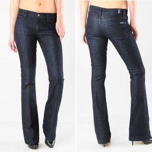 7 For All Mankind Charlize Flare Jeans Soho Wash